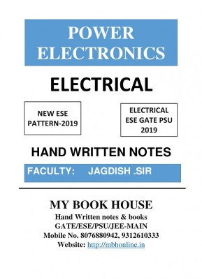 POWER ELECTRONICS-JAGDISH SIR | MY BOOK HOUSE Book Store in